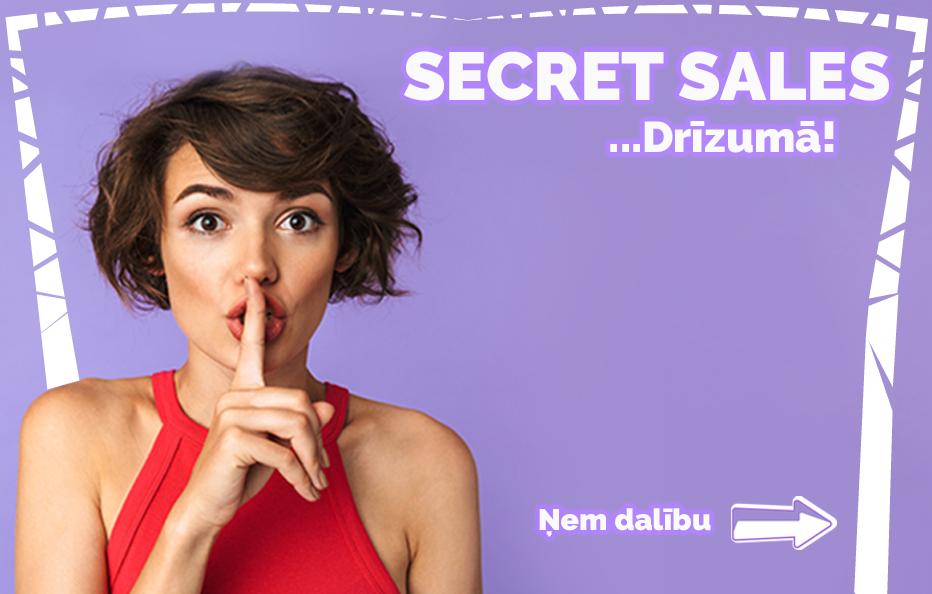Secret Sales Banner
