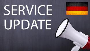 Pakalpojuma svarīgs paziņojums – preču kavēšanās no Vācijas
