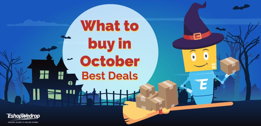 Ko vislabāk iegādāties tieši oktobrī – labākie piedāvājumi