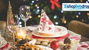 Idejas skaistam Ziemassvētku galda noformējumam!