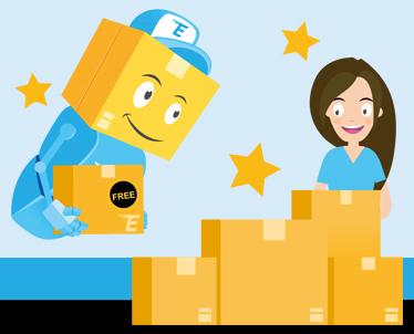 Black Friday 2020 Deal - Order 5 parcels pay for 4!