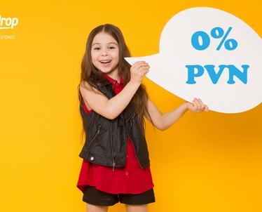 Anglijas interneta veikalos bērnu precēm 0% PVN!