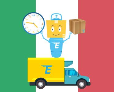 Jaunākā informācija par preču piegādi no Itālijas