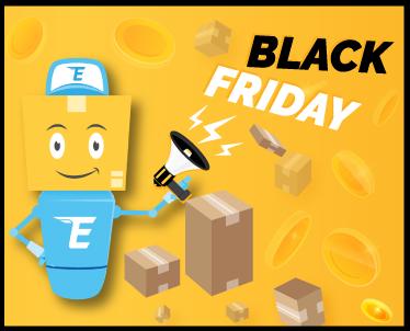 Melnās piektdienas īpašais piedāvājums – bezmaksas internacionālā piegāde!