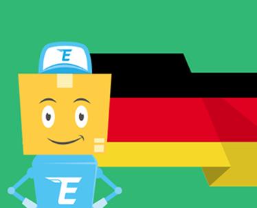 Изменение адреса для заказов из Германии